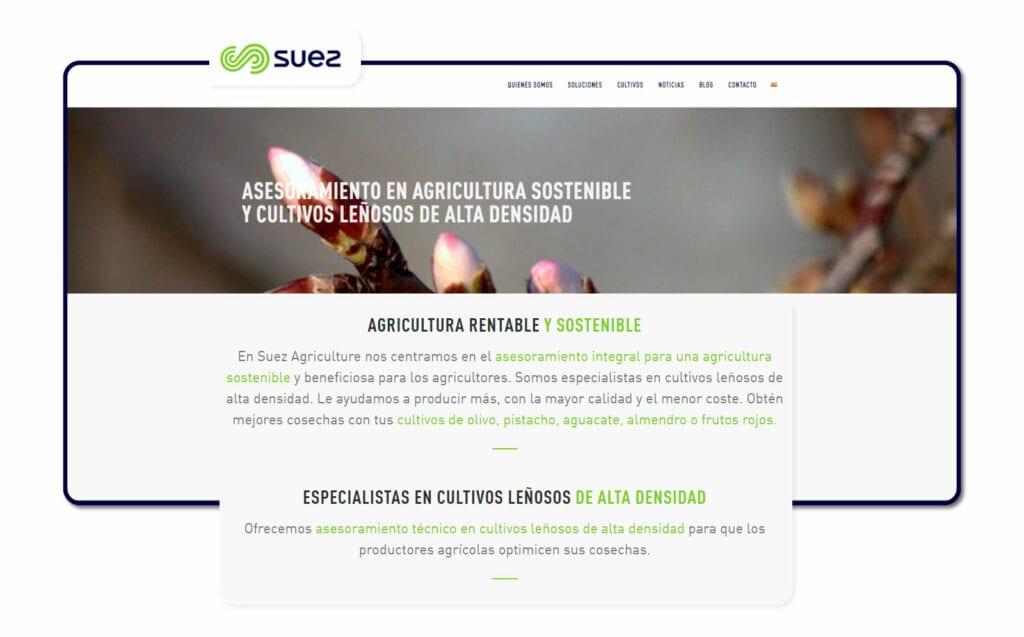 proyectos SUEZ Agriculture